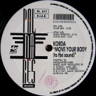 Korda - Move Your Body (To The Sound) - Palmares Records - PL 317