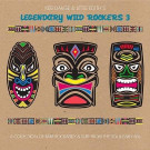 Various - Keb Darge & Little Edith's Legendary Wild Rockers Vol. 3 - BBE - BBE238CLP