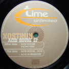 Nostrum - Acid House EP - Time Unlimited - TIME 041-6