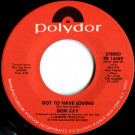 Don Ray - Got To Have Loving / My Desire - Polydor - PD 14489