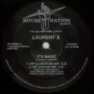 Laurent X - It's Magic - House Nation Records - HN 89064