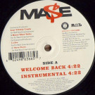 Mase - Welcome Back - Bad Boy Entertainment - B0003354-11