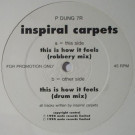 Inspiral Carpets - This Is How It Feels (Robbery Remix) - Mute - P DUNG 7 R