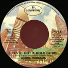 Demis Roussos - L.O.V.E. Got A Hold Of Me / Hey Friend - Mercury - 74018