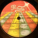 Passion - Don't Stop My Love - Prelude Records - PRLA 2704
