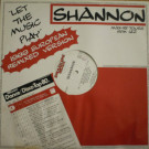 Shannon - Let The Music Play - (1989 European Remixed Version) - Smash One Music - SHO 12220