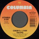 Cheryl Lynn - Encore - Columbia - 38-04256