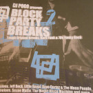DJ Pogo - Block Party Breaks 2 (Tough Original Breaks, Hard Funk & 70s Funky Rock) - Strut - STRUTLP 009