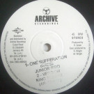 Junior Reid / Natural Vibes - One Sufferation / Sweet Sensation - Archive Recordings - AR-120610