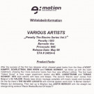 Various - Penalty The Electro Series Vol.3 - Penalty - PENALTY 003