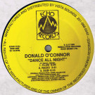 Donald O - Dance All Night - Echo Records - ECHO 17