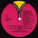 Kristin Baio - Don't Turn Your Back On Love - Vendetta Records - VE-7011