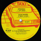 Struggle / Dean Fraser / Sly & Robbie - My Baby / Rent A Car / Billie Jean - Island Records - IPR 2071