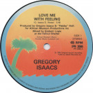 Gregory Isaacs - Love Me With Feeling - Island Records - IPR 2066