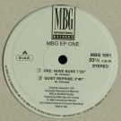 MBG - EP One - MBG International Records - MBG 1091