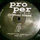 Critical Mass - Critical Mass EP - Proper N.Y.C. - PROPS 010