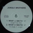 Jungle Brothers - What U Waitin' 4? - Warner Bros. Records - SAM 650