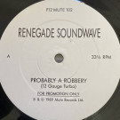 Renegade Soundwave - Probably A Robbery - Mute - P12 MUTE 102