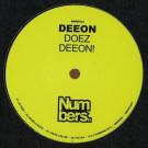 DJ Deeon - Deeon Doez Deeon! - Numbers. - NMBRS24