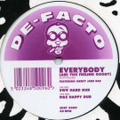 De-Facto - Everybody (Are You Feeling Good?) - The Sound Of Stockwell - SOST 5009