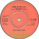 Steve Miller Band - Living In The U.S.A. / Kow Kow Calqulator - Capitol Records - CL 15786