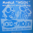 Monica - Inside (Masters At Work Remixes) - Word Of Mouth - INSIDE12