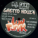Various - Ghetto Houz'4 - Funk Records - DJ 005