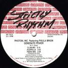 Photon Inc. Featuring Paula Brion - Generate Power - Strictly Rhythm - SR 1251