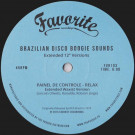 """Various - Brazilian Disco Boogie Sounds (Extended 12"""" Versions) - Favorite Recordings - FVR103"""