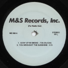 Various - Untitled - M&S Records, Inc. - MS 508