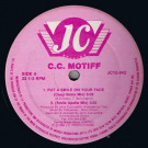 C.C. Motiff - Put A Smile On Your Face - J.C. Records - JC12-042