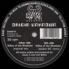Origin Unknown - Valley Of The Shadows - RAM Records - RAMM16, RAM Records - RAMM 16