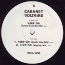 Cabaret Voltaire - Keep On - Parlophone - 12RXDJ 6250