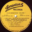 Various - Club Sensations Volume 1 - Sensations Records - CS-4507