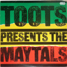 The Maytals - Toots Presents The Maytals - State Records - ETAT 16