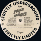 Masters Of The Universe - Check It Out / Space Talk - Strictly Underground Records - HE-MAN-001