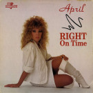April - Right On Time - Metropolitan Recording Corporation - MRC 04452