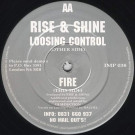 Rise & Shine - Loosing Control / Fire - Impact Records - IMP 038