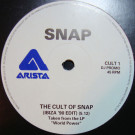 Snap! - The Cult Of Snap (Ibiza '90 Edit) - Arista - CULT 1