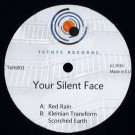 Your Silent Face - Red Rain EP - Tethys Records - TETH001