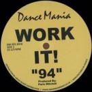 """Parris Mitchell & Reggie Hall - Work It! """"94"""" - Dance Mania - DM 055 2016"""