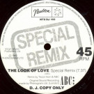 ABC - The Look Of Love (Special Remix) - Neutron Records - NTX DJ 103