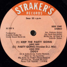 Ziggy - Keep The Party Going - Straker's Records - GS 2857