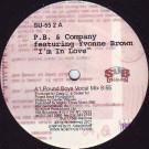 PB & Company Featuring Yvonne Brown - I'm In Love - Sub-Urban - SU-55 2