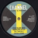 Earth And Stone / I-Roy - Free Black Man Dubplate Style - Channel One - DKR 206