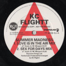 KC Flightt - Summer Madness - RCA - PT 49336 DJ, RCA - KCFT 1