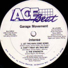 Intense - Garage Movement EP - Ace Beat Records - Ace 1145