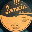 Freddie McGregor - Just Don't Want To Be Lonely - Germain Records - DGT 24, Germain Records - DGT 25