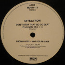 Effectron - Don't Stop That Go-Go Beat - MDM Records - MDM 5 13