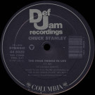 Chuck Stanley - The Finer Things In Life - Def Jam Recordings - 44 6020, Columbia - 44 6020